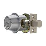 The Schlage B-500 Grade 2 Commercial Deadbolt lock.